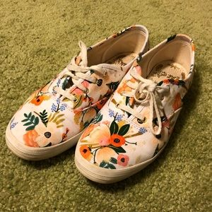 Rifle Paper Co Keds, Size 7.5